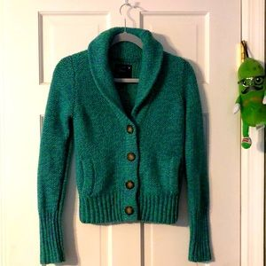 American Eagle Outfitters Shawl Collared Cardigan Sweater